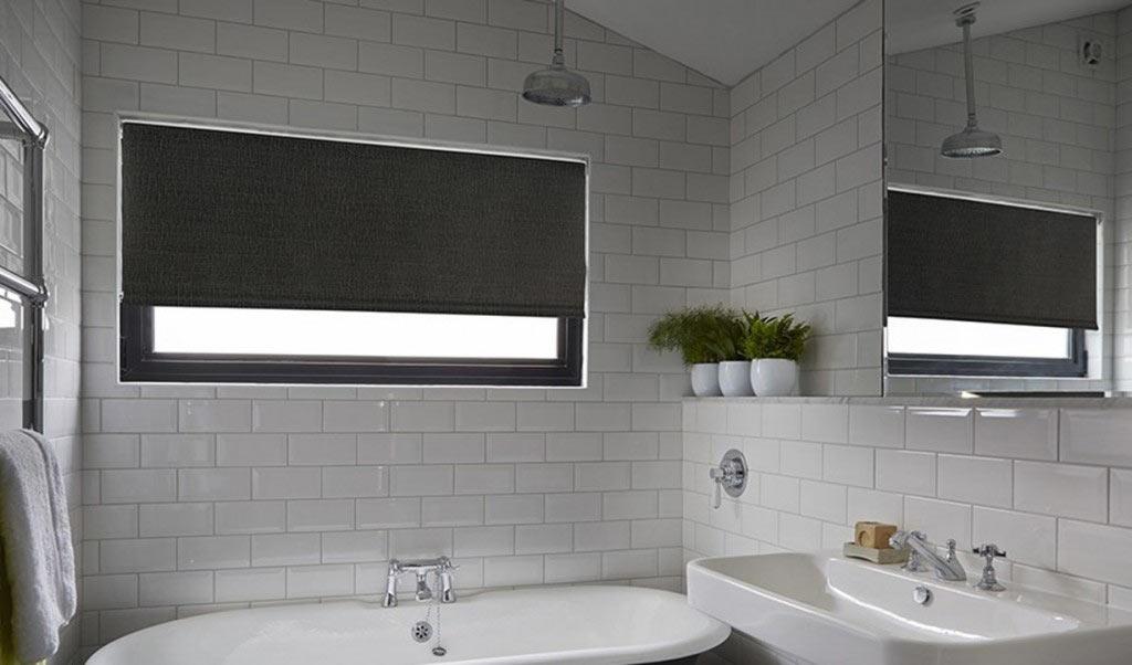 Black Roller Blinds In Bathroom Roller Blinds Nz
