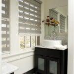 contemporary bathroom blinds