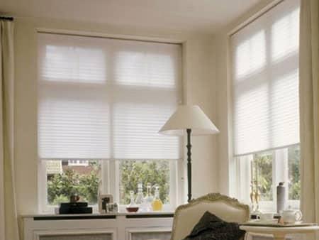 light-fitlering honeycomb blinds